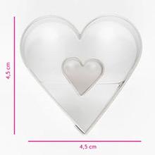 Cortador galletas con forma de corazón - Ítem1