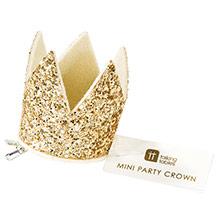 Corona mini infantil dorada - Ítem1