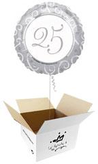 Globos para Aniversarios en caja sorpresa