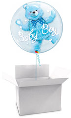 Globos para Baby shower en caja sorpresa