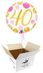 Globos para Cumpleaños en caja sorpresa