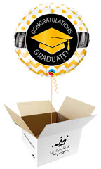 Globos para Graduación en caja sorpresa