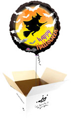 Globos para Halloween en caja sorpresa