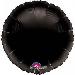Globo redondo Negro