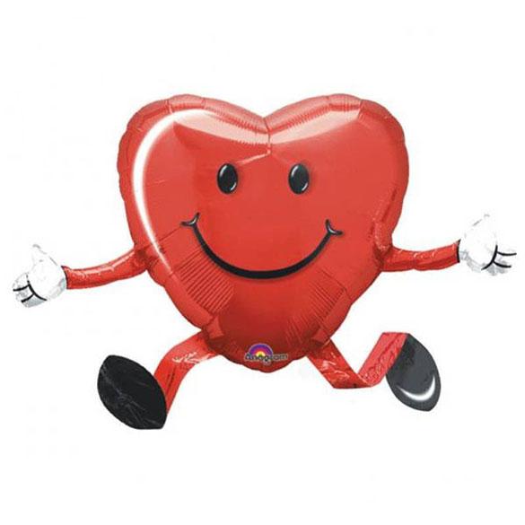 Globo Corazón con patas
