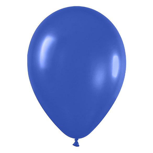 Globos de Látex Azules. Pack 10 unidades