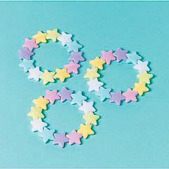Pulseras estrellas, Pack 12 u.