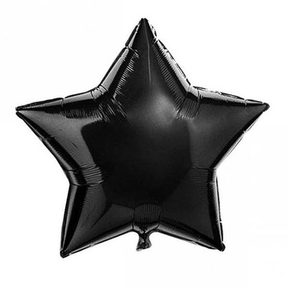 Globo estrella Negra