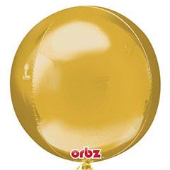 Globo esfera dorado