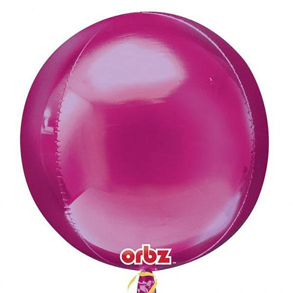 Globo esfera fucsia