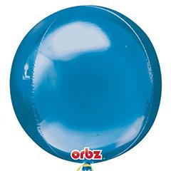 Globo esfera azul