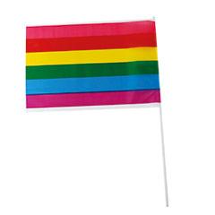 Bandera Arco Iris con palo