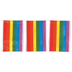 Guirnalda banderas Arco Iris 10 metros