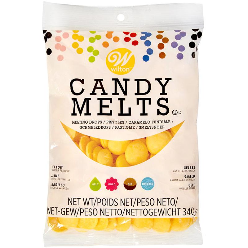 Candy Melts Wilton color amarillo