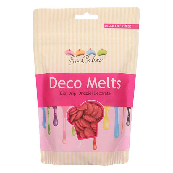 Candy Melts Wilton color rojo