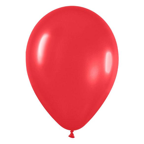 Globos de Látex Rojos. Pack 10 unidades
