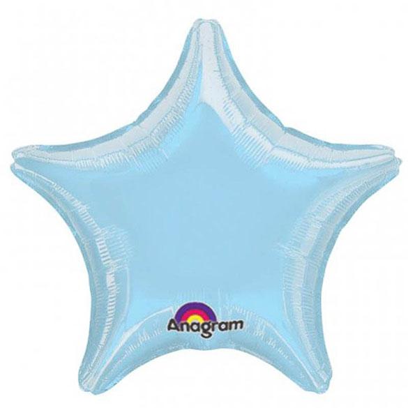 Globo estrella Azul cielo