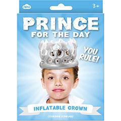 Corona Príncipe por un día inflable