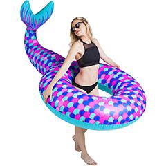 Flotador gigante Sirena