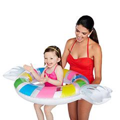 Flotador infantil caramelo