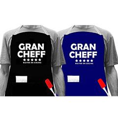 Delantal Gran Chef 5 estrellas
