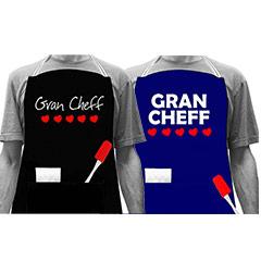Delantal Gran Chef 5 corazones