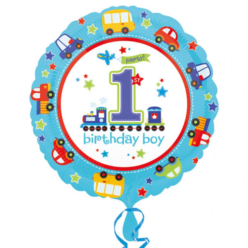 Globo primer cumpleaños niño