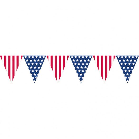 Guirnalda banderines USA