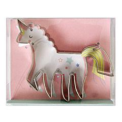 Cortador de galletas con forma de Unicornio