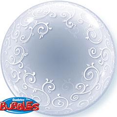 Globo Burbuja transparente decorado
