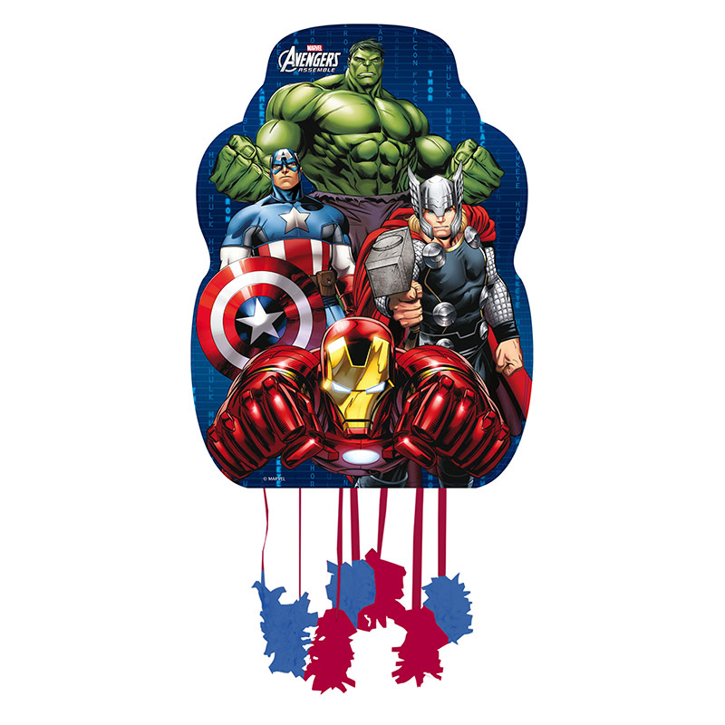 Piñata pequeña Vengadores