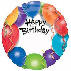 Globo Happy Birthday