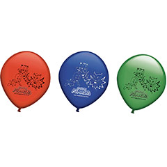 Globos PJ Masks colores surtidos, Pack 8 u.