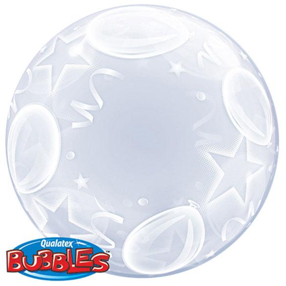 Globo transparente decorado burbuja