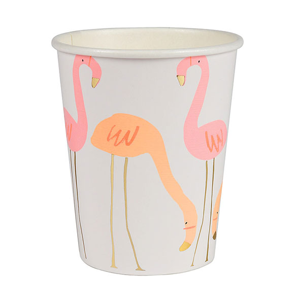 Vasos Flamencos 266 ml, Pack 8 u.