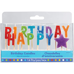 Velas cumpleaños texto