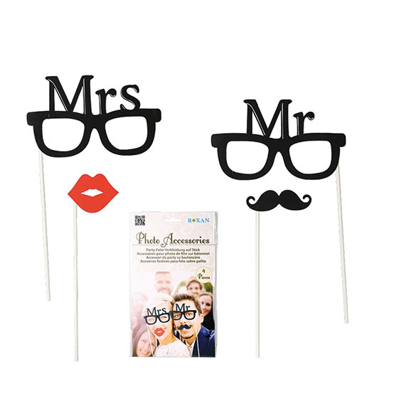 Boda Mrs. & Mr., Accesorios Photocall