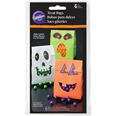 Bolsas Halloween con pegatinas