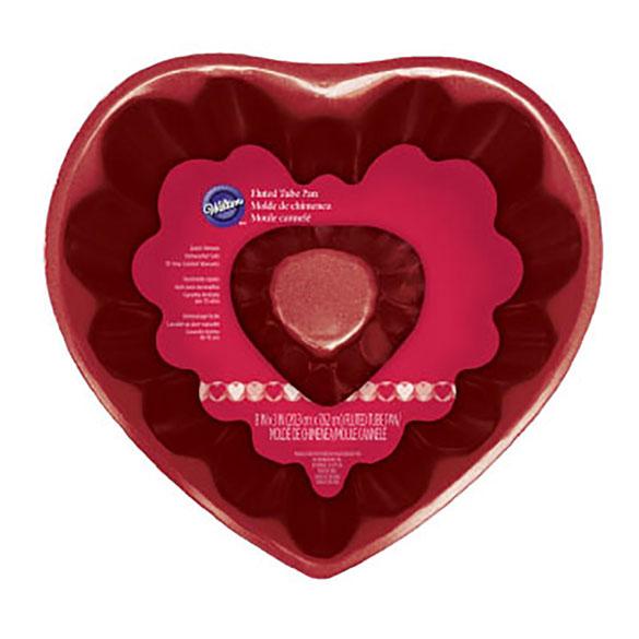 Molde Bundt forma Corazón 20 cm