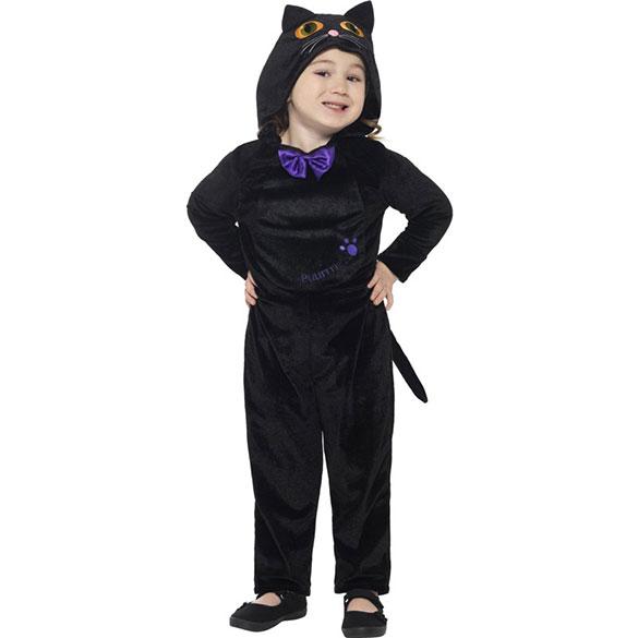 Disfraz gato o gata negro infantil