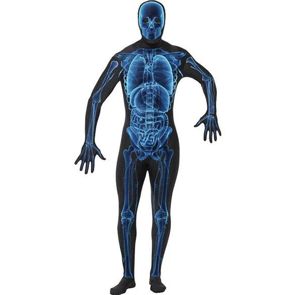 Disfraz esqueleto rayos X