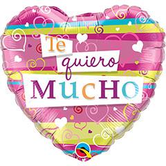 Globo Corazón Te Quiero mucho