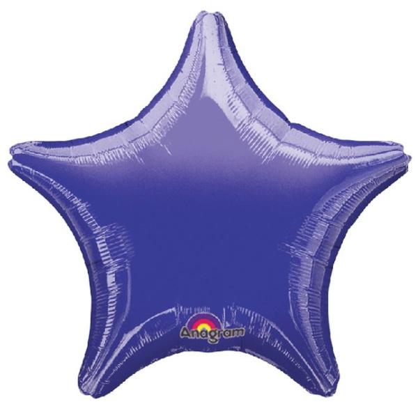 Globo estrella Morado