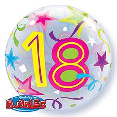 Globo Burbuja 18 años