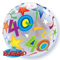 Globo Burbuja 40 años