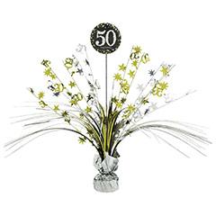 Centro de mesa 50 años