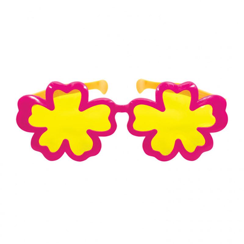 Gafas con forma de flor gigantes