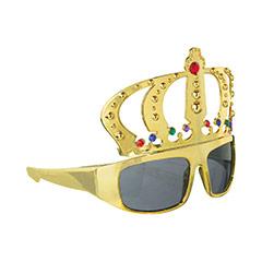 Gafas con forma de corona de Rey
