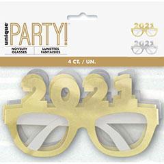Gafas de cartón 2020, Pack 6 u