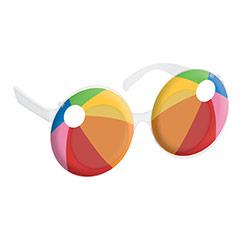 Gafas con forma de pelota de playa
